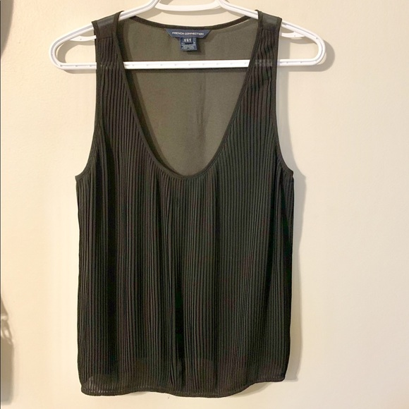 French Connection Delicate Pleated Top